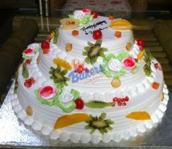 3 Decker Fruit Special Cake