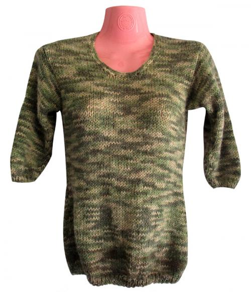 Green Woolen Winter Outfit - (SP-011)