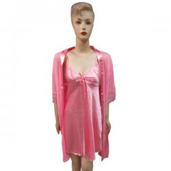 Light Pink Silk Nightwear