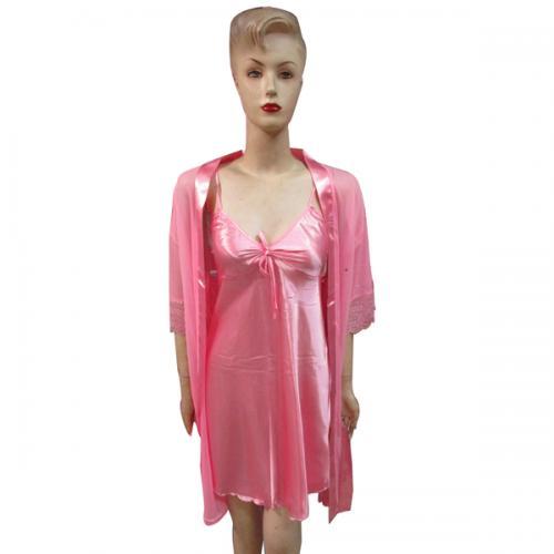 Light Pink Silk Nightwear