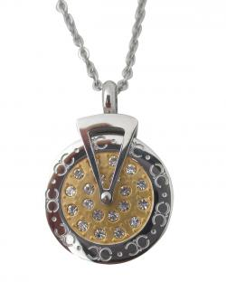 CZ Diamond 4 in 1 Energy Pendant