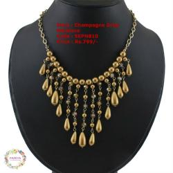 Champange Drop Necklace