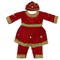 Red Pashni Wear - (JU-022)