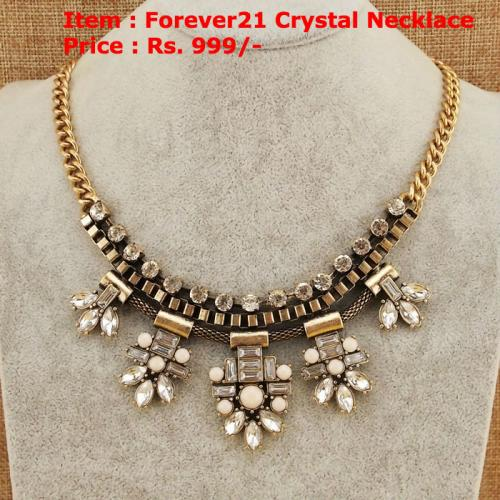 Forever21 Crytsal Necklace