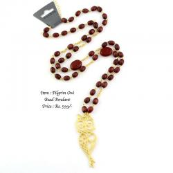 Pilgrim Owl Beaded Necklace