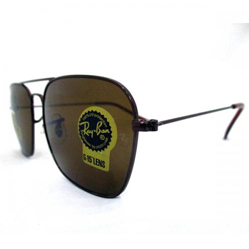 Rayban Brown Caravan Diamond Hard Sunglasses - (RB-0004)