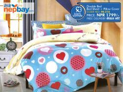 Pure Korean Cotton Bedsheet - (PK-210)