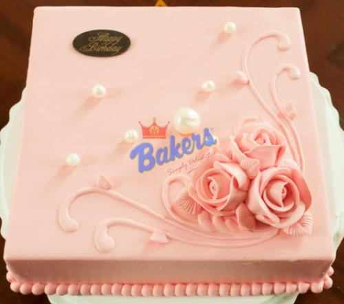 Strawberry Cream Cake - 1KG
