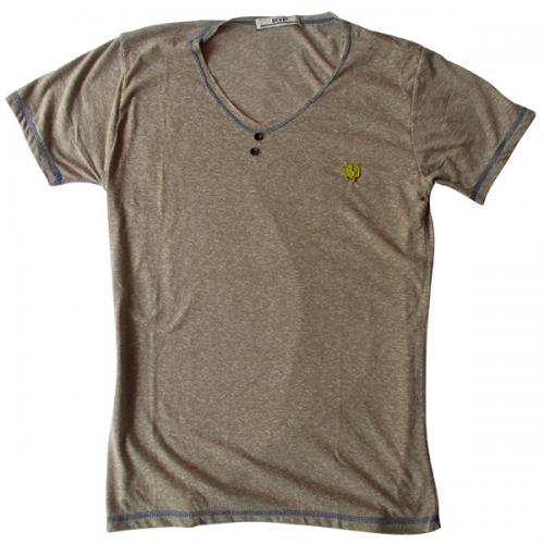 Grey Buff Jeans T-Shirt - (EC-042)
