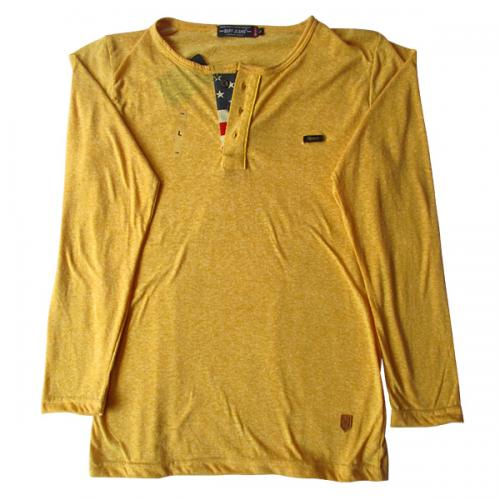 Yellow Buff Jeans Full Sleeve T-Shirt - (EC-043)