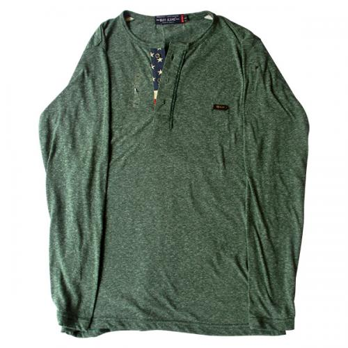 Green Buff Jeans Full Sleeve T-Shirt - (EC-044)