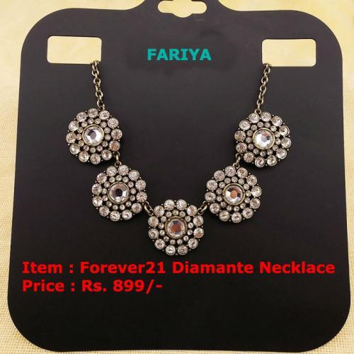 Forever21 DIamante Necklace