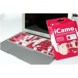 Icamo Mbp Keyboard Protector Red - (APP-062)