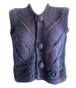 Navy Woolen Winter Outfit - (SP-006)