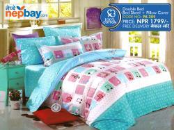 Pure Korean Cotton Bedsheet - (PK-209)