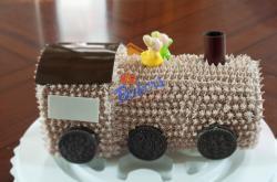 Train Chocolate Cake - 4 Pounds