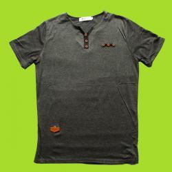 Cotton Round Neck Body Size T-Shirt - (EC-066)
