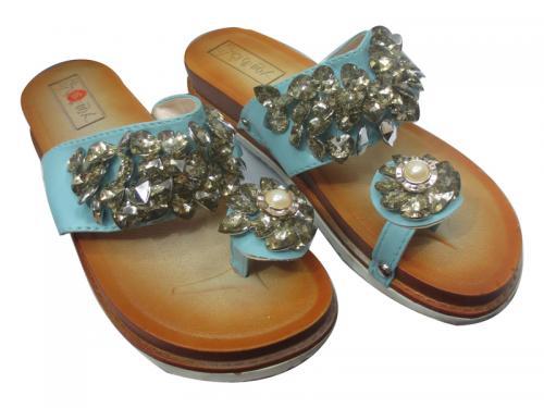 Ladies Blue Sandal