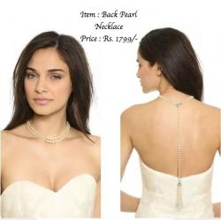 Back Pearl Necklace