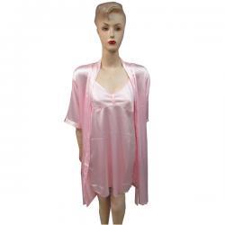 Pink Silk Nightwear