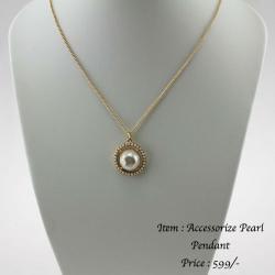 Accessorize Pearl Pendant