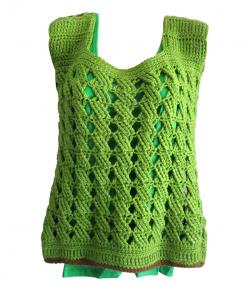 Light Green Woolen Winter Outfit - (SP-008)