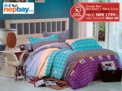 Pure Korean Cotton Bedsheet - (PK-207)