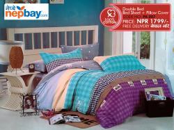 Pure Korean Cotton Bedsheet - (PK-207)