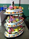 3 Decker Stand Cake
