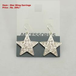 Star Bling Earrings
