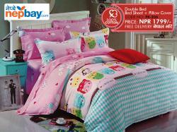 Pure Korean Cotton Bedsheet - (PK-206)