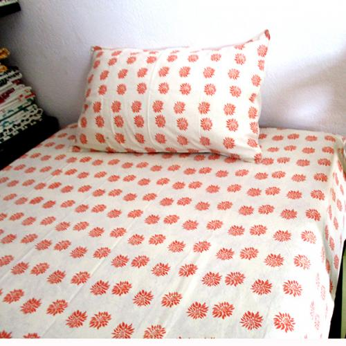 Bedsheet With Pillow Cover - (CM-009)