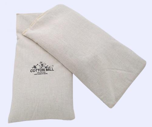 100% Cotton Baby Pillow - Filled With Mustard - (CM-032)