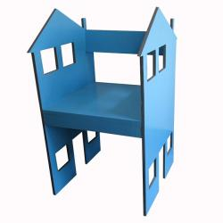 Wooden House Style Chair - (CM-057)