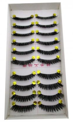 Purple Pupil High Class Eyelashes - (FF-002)
