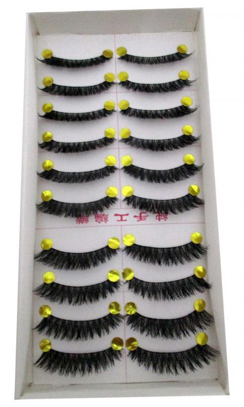 Purple Pupil High Class Eyelashes - (FF-002)