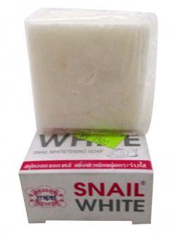 White Snail Whitening Soap - (FF-013)