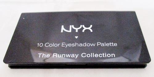 NYX 10 Color Eye Shadow Palette - (FF-055)