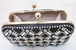 Beautiful Black Clutch for Ladies - (FF-056)