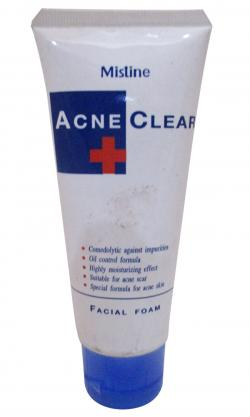 Mistine Acne Clear Facial Foam - (FF-070)