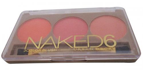 Naked 6 3Color Blush - (FF-083)