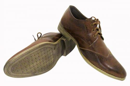 Italiano Dark Brown Formal Shoes - (SB-0122)