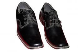 Black Smart College Shoe (TK-CS-001)