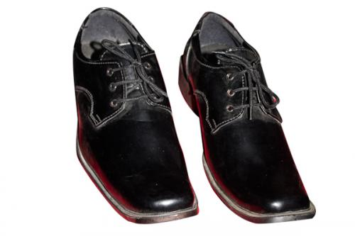 Black Smart College Shoe (TK-CS-001)