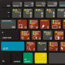 Jcpal Verskin Shortcut Keyboard Protector - Adobe Flash Pro - (AIP-181)