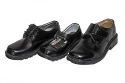 Black Stylish Kids School Shoe (TK-KS-003)