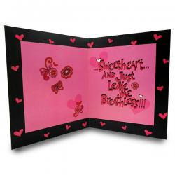 Kiss Me Greeting Card - (ARCH-462a)