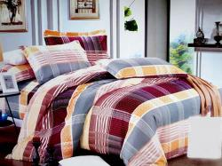 Large Check Cotton Bedding (GW-307)