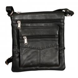 Leather Two Side Bag