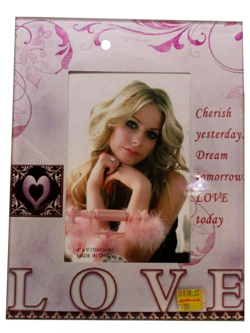 Love Personalised Photo Frame - (ARCH-308)